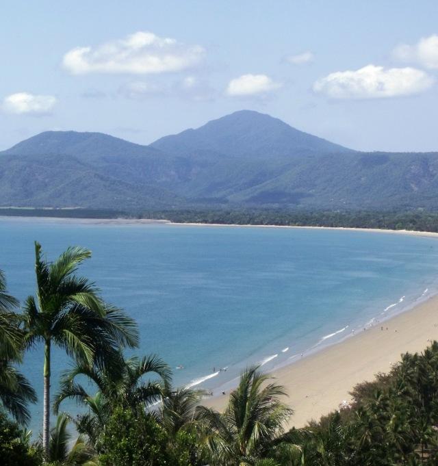 The beach at Port Douglas, North Queensland, Australia. Photo: David Clode.
