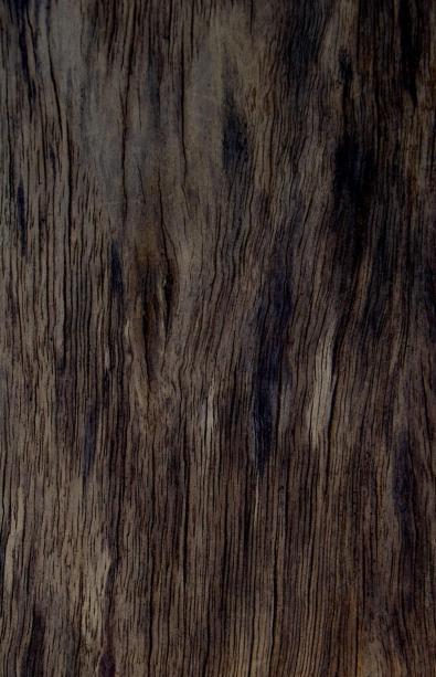 Dark rugged timber