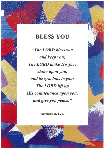 """Bless You"" Poster."