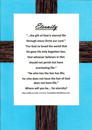Eternity Christian Poster