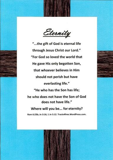 Eternity Christian Poster