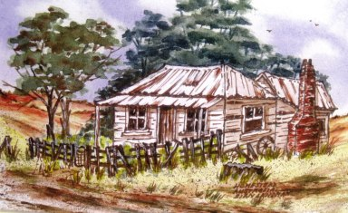 A happy homestead. Tracts4free.WordPress.com.