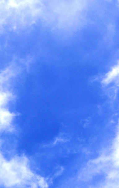 Cloudy sky photo.