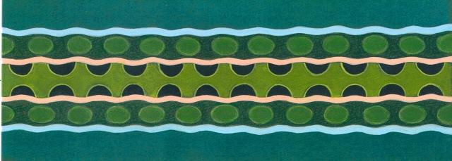 """""""Atropos"""". The pattern of the Cape Mountain Adder, Bitis atropos."""