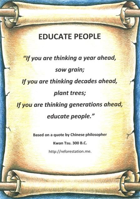 Kwan Tsu quote.