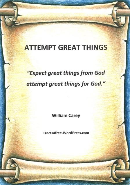William Carey quote.