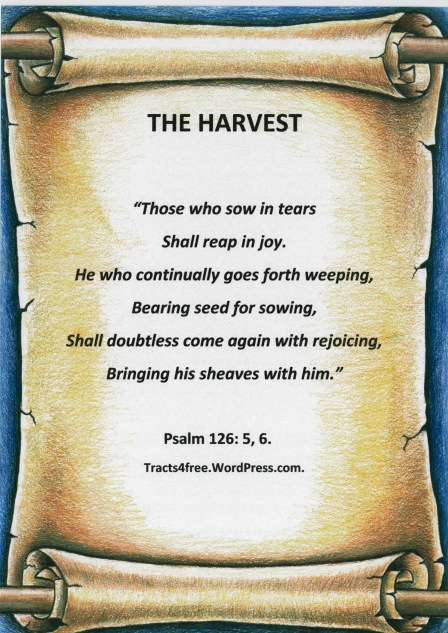 """""""The Harvest"""" Poster."""