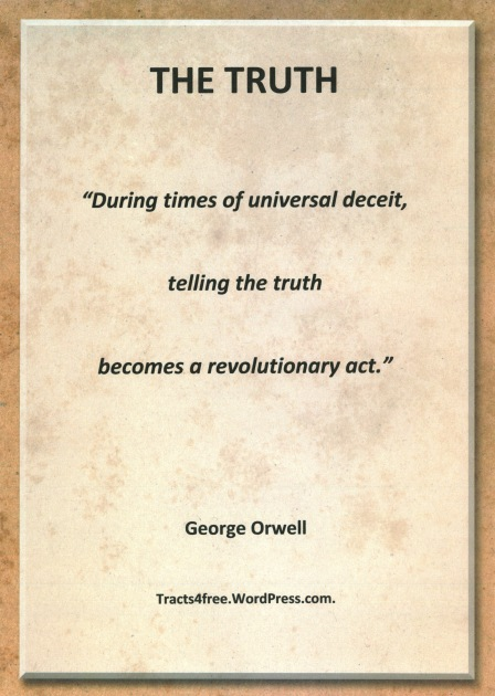 George Orwell quote.