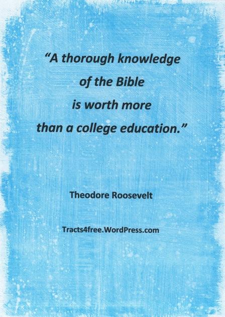 Theodore Roosevelt quote.
