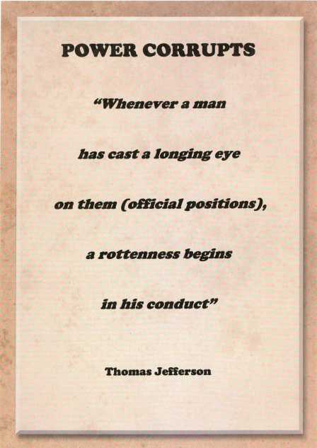Thomas Jefferson quote.