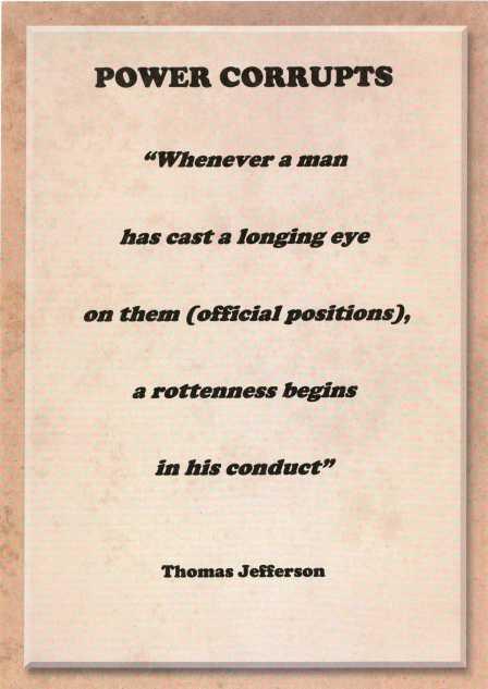 Thomas Jefferson quote.