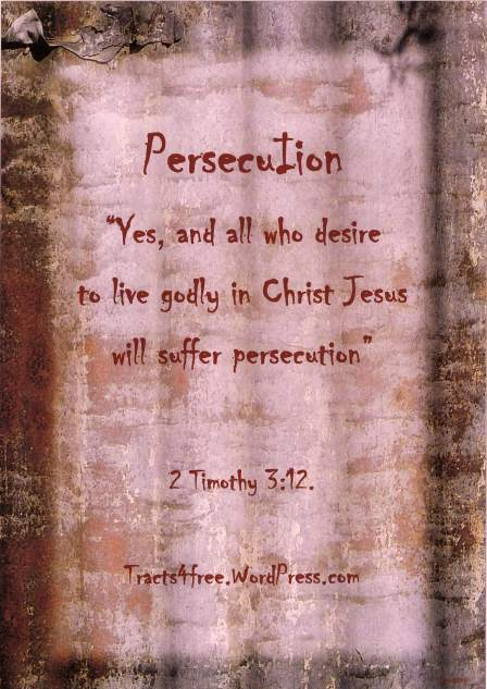 Persecution poster.