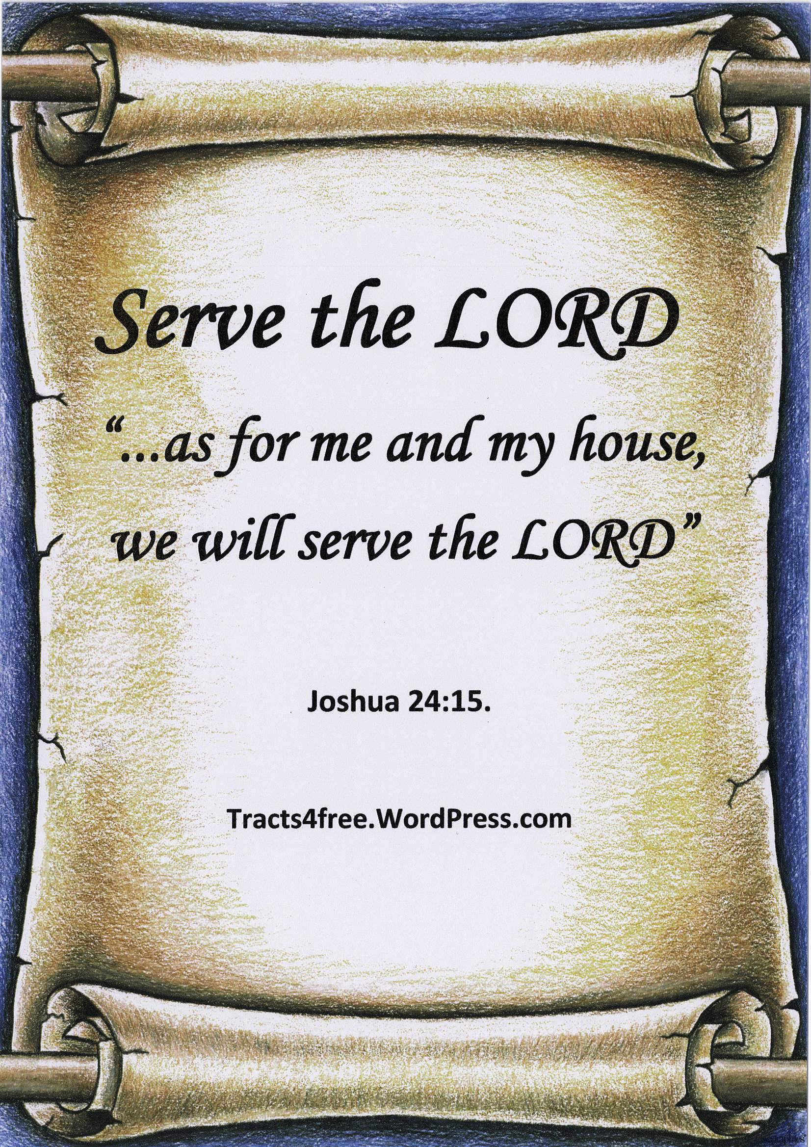Bible Verse Posters 1 Tracts4free