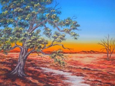 Desert dawn.