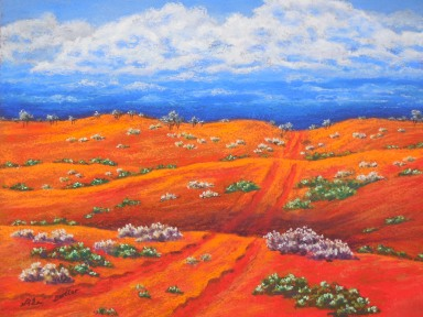 Red dunes.