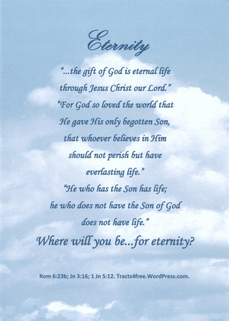 """Eternity"" Poster."