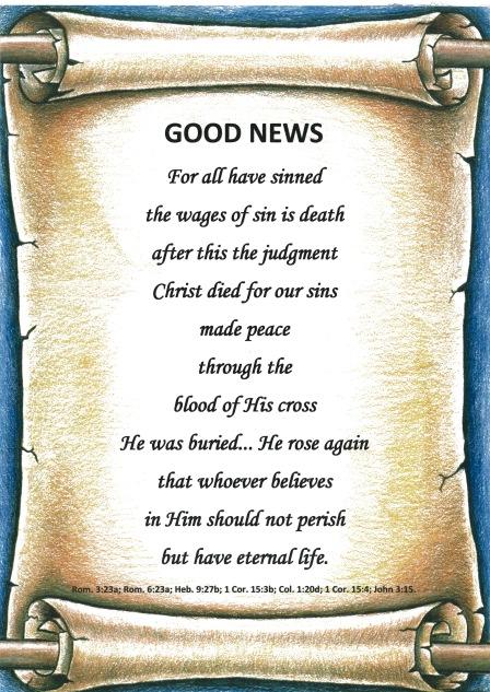 """Good News"" Poster."