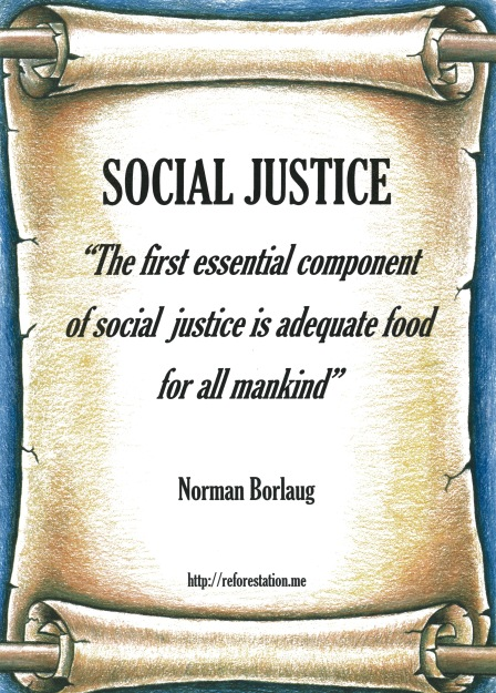 Norman Borlaug quote.