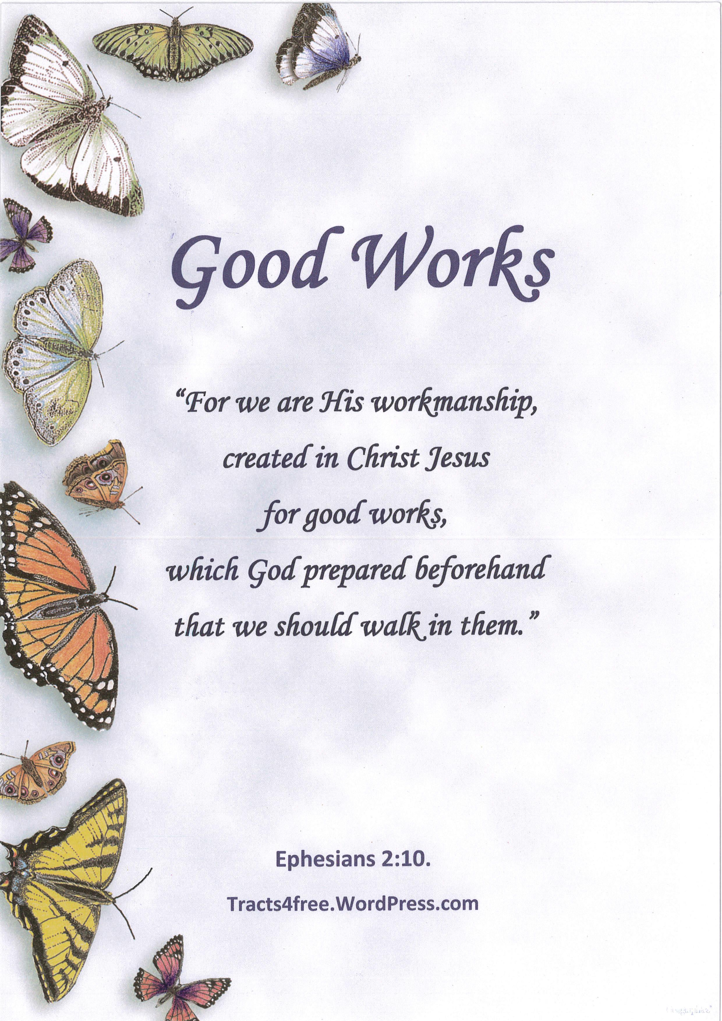 Faith and good works
