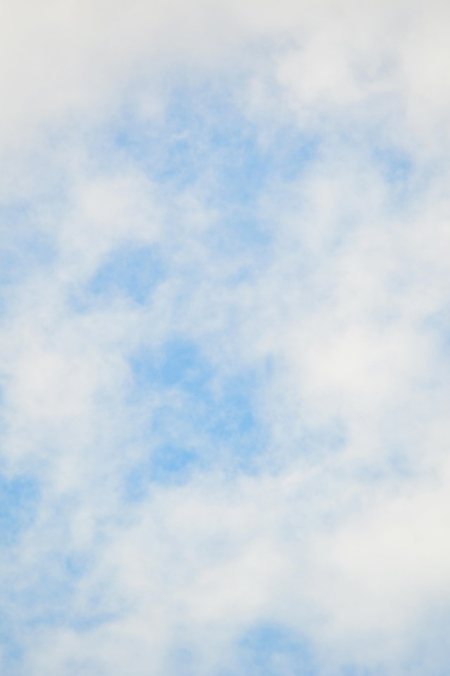 Free poster background (cloudy sky).