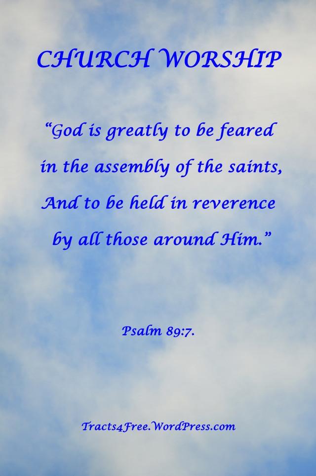 Church Worship. Psalm 89