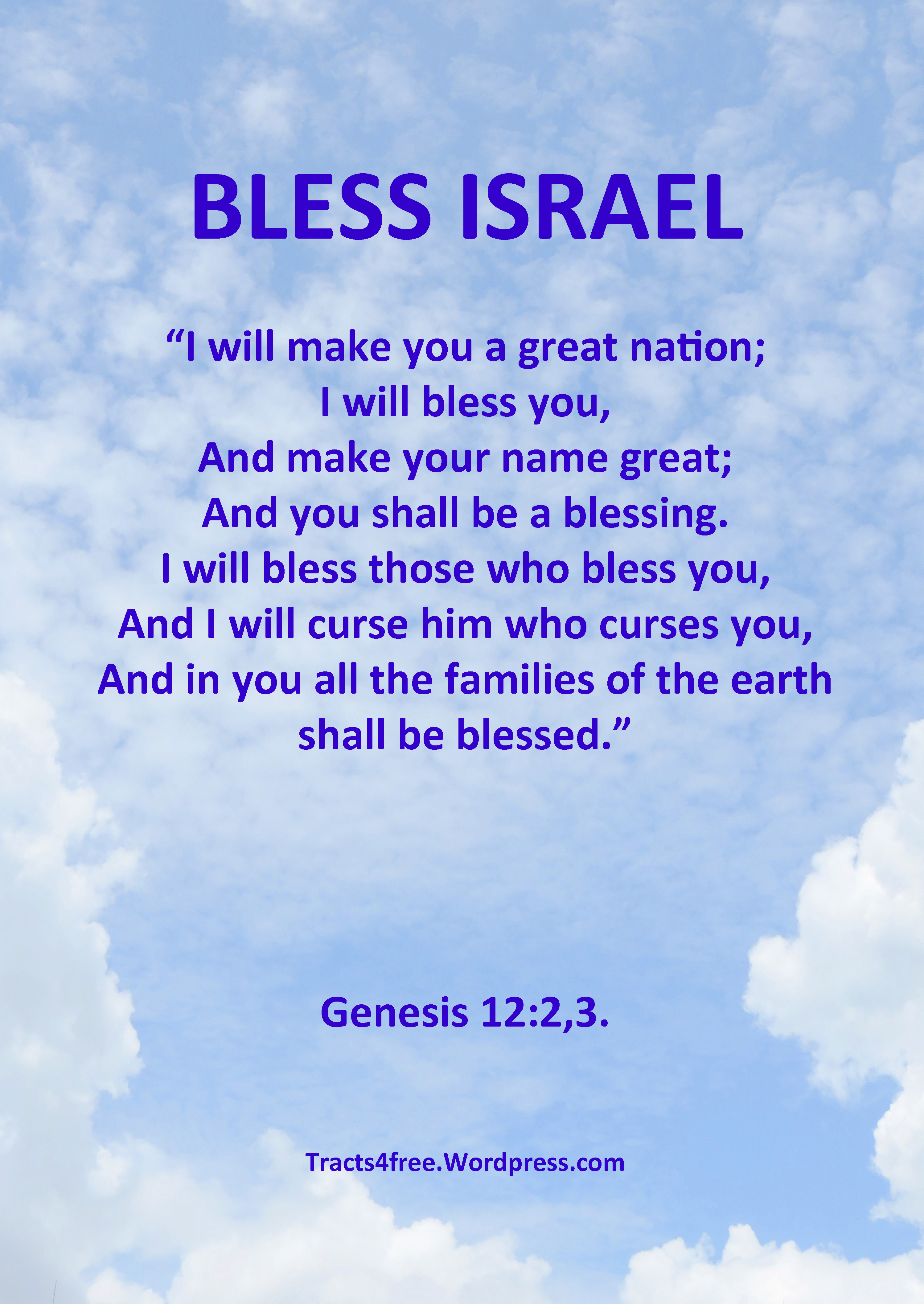 israel a blessing to all nations