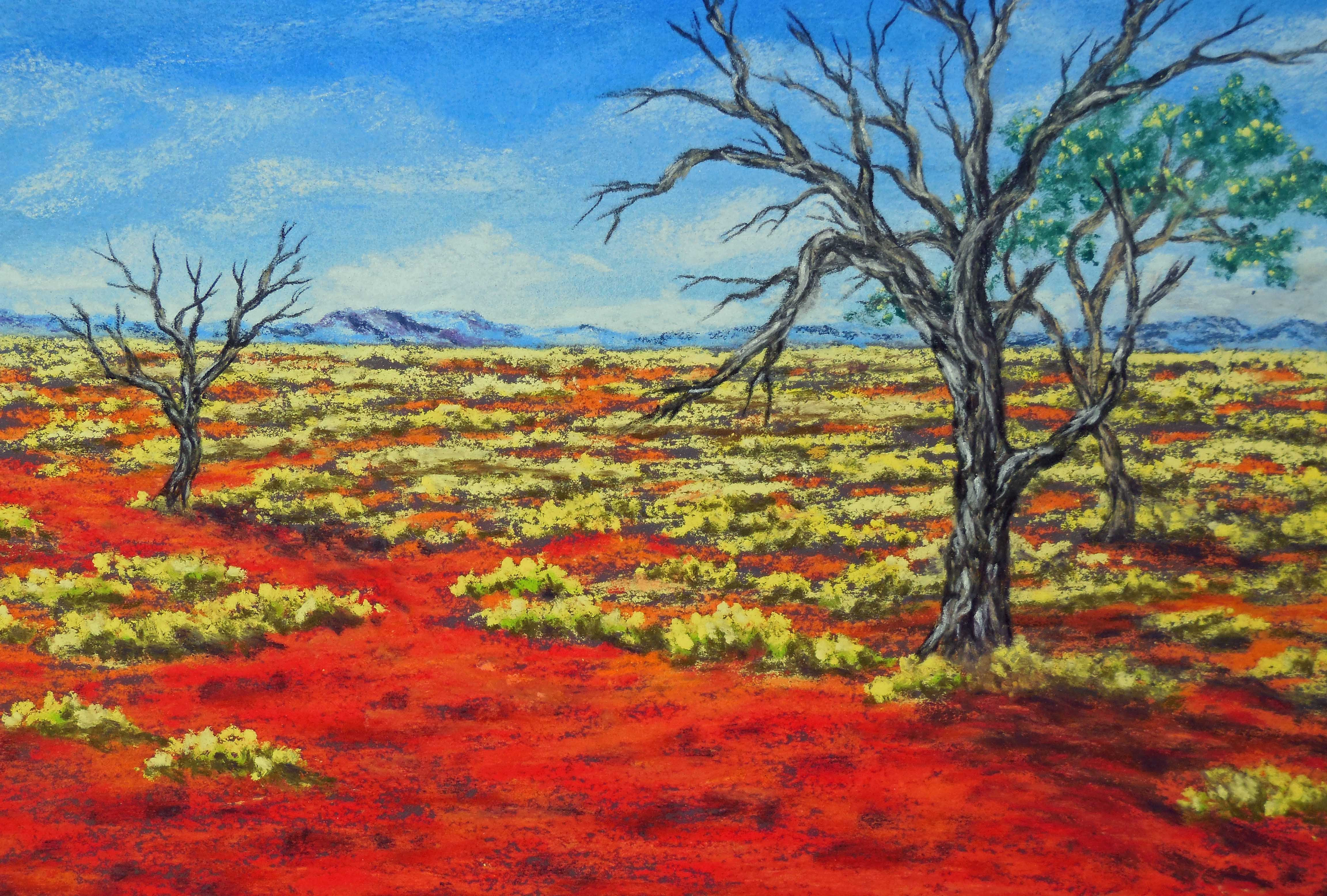 Australian outback paintings 1 tracts4free for Australian mural artists