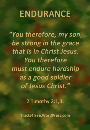 Good soldier of Jesus Christ poster. 2 Timothy:1,3.