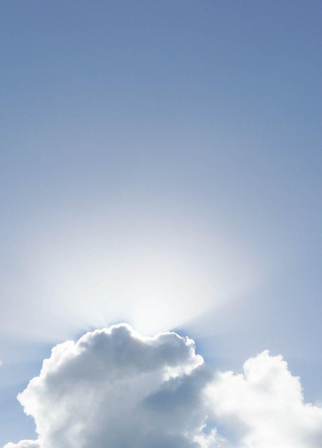 Sun Rays Background. Photo: david Clode.