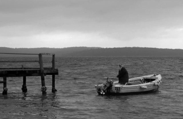 """Old man of the Sea"" Background. (St Helens Tasmania Australia). Photo: David Clode."