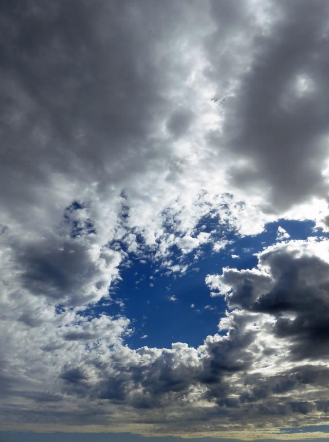 Dramatic sky background. Photo: David Clode.