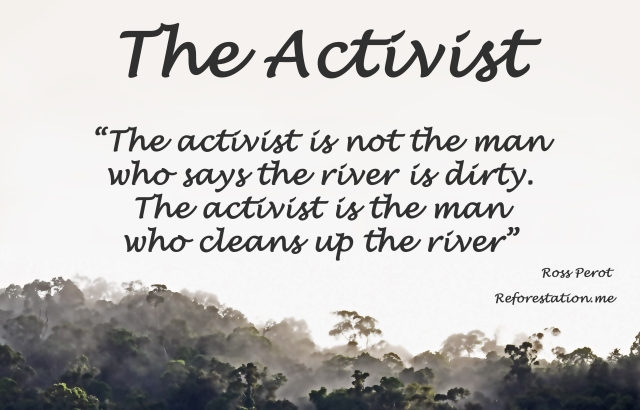 The Activist poster by David Clode.