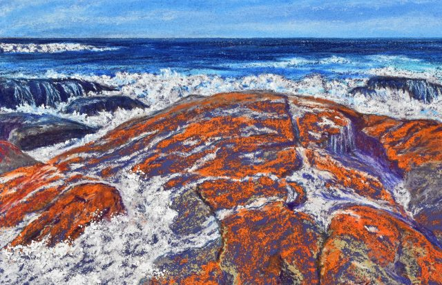 Bay of Fires 2. Seascape by Sian Butler.