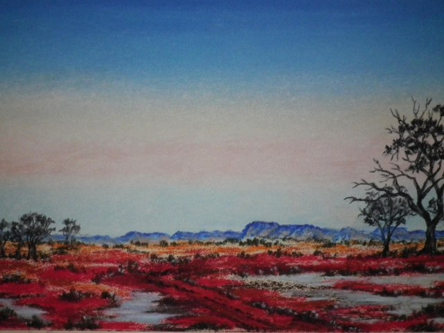 Australian Outback by Sian Butler.