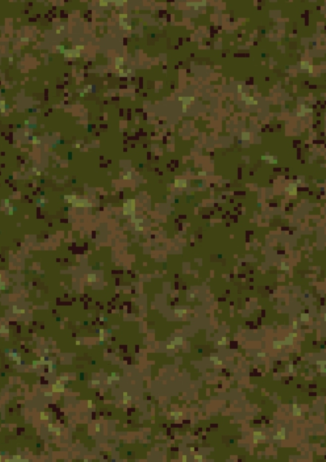 Digital camouflage background by David Clode.