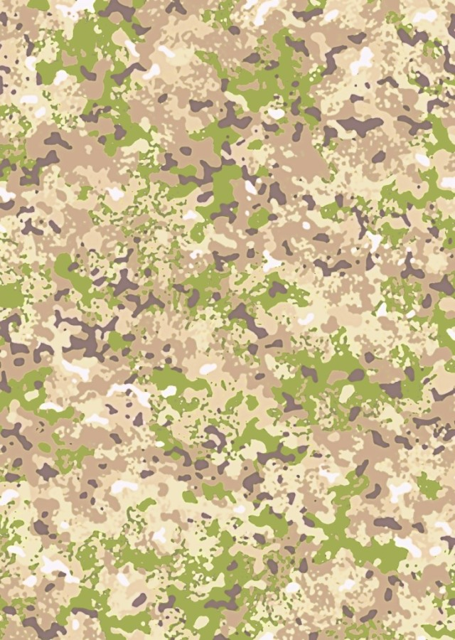 Camouflage background designed by David Clode.