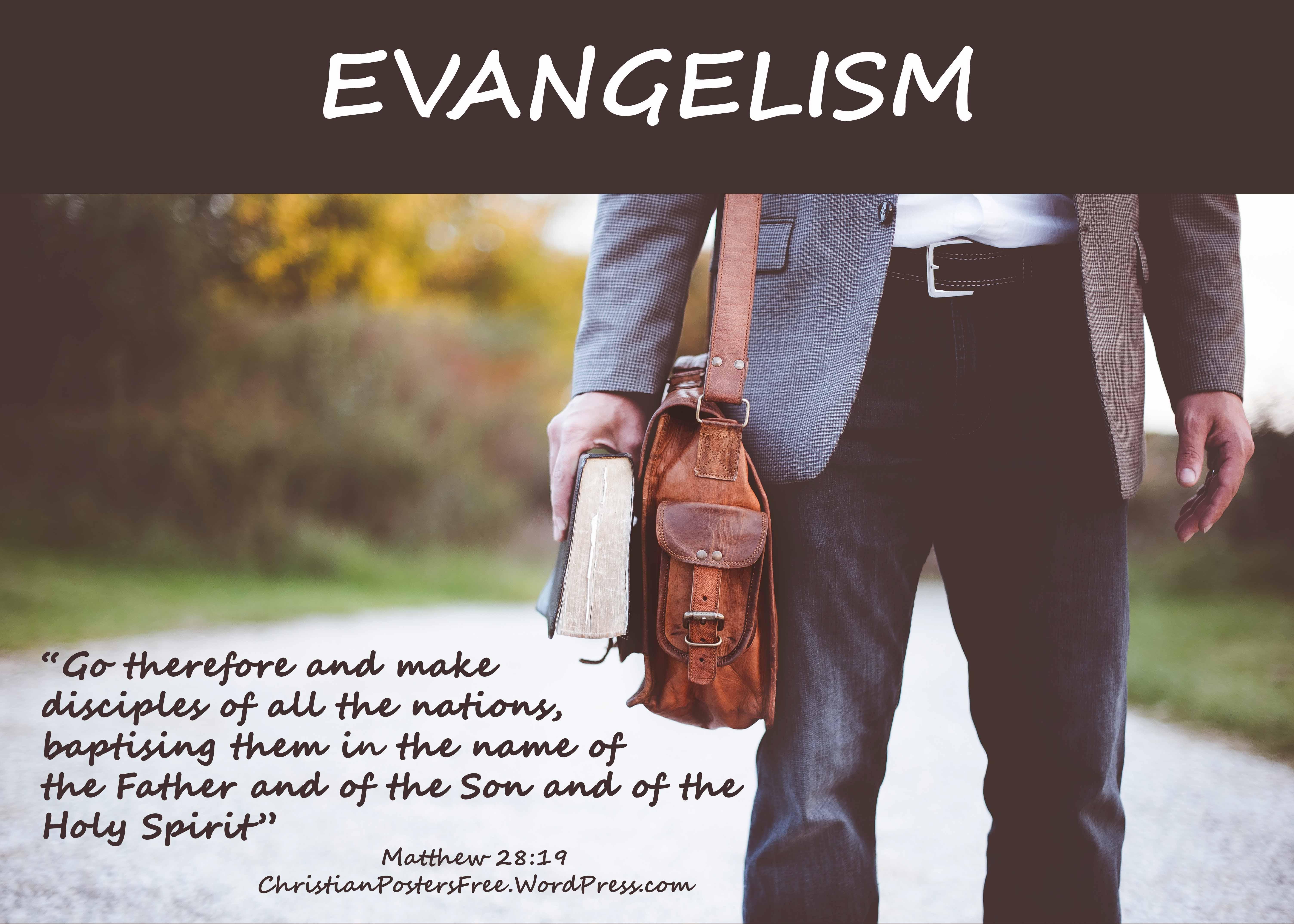 evangelism poster photo ben white on unsplashcom poster david clode